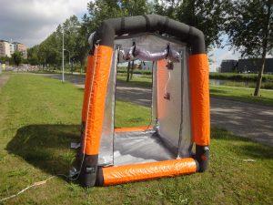 Accessoires beschermende kleding contaminatie tent