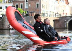 Redding en evacutatie Rescue Tipboard opblaasbaar reddingsplatform ijs en waterredding kantelbaar reddingsvlot
