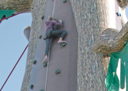 Klimwand apparaten valbeveiliging veilig klimmen