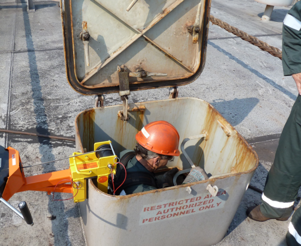 HONOR TankKlem verplaatsbare ankervoorziening tankranden mangaten