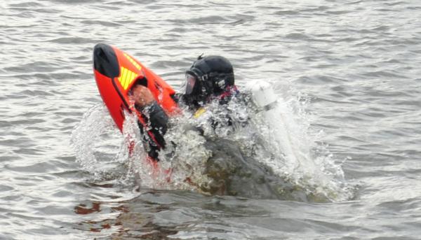 SEABOB Rescue waterjet voo varen en duiken brandweer water redding
