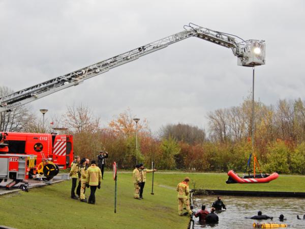 escue TIP-BOARD Brandweer Gent België