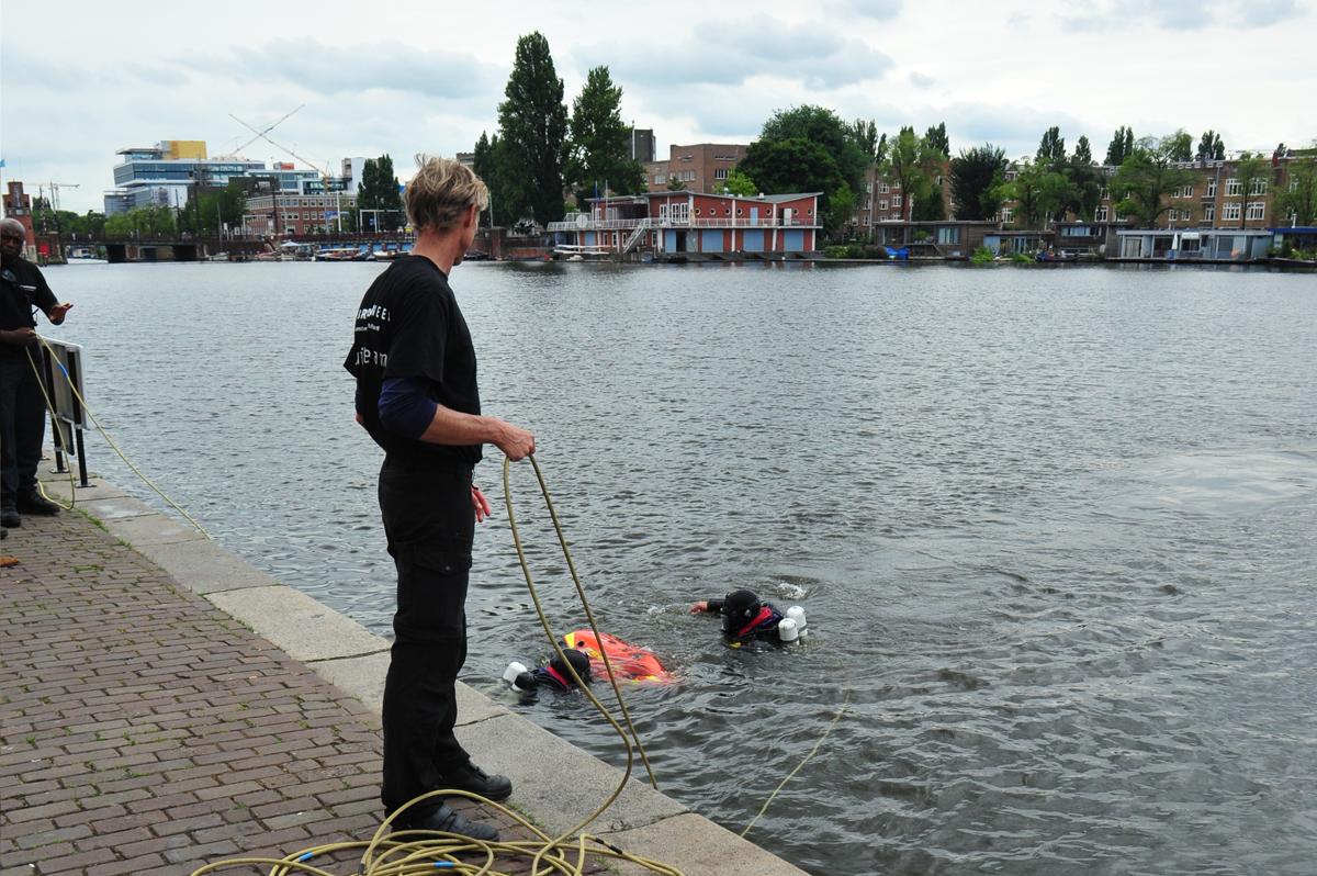 Rescue TIP-BOARD-Duikers-Brandweer Amsterdam Amstelland