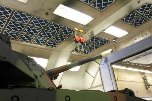 FAB15-Valstopapparaat-defensie-spuitcabine-tank
