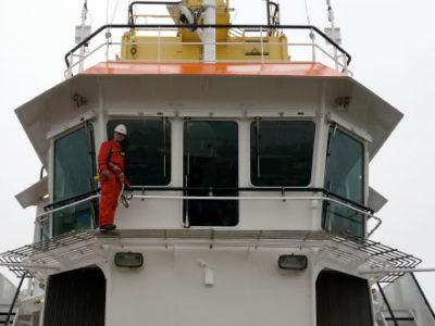 HONORail®-SafeRail-veiligheid-schip-valbeveiliging