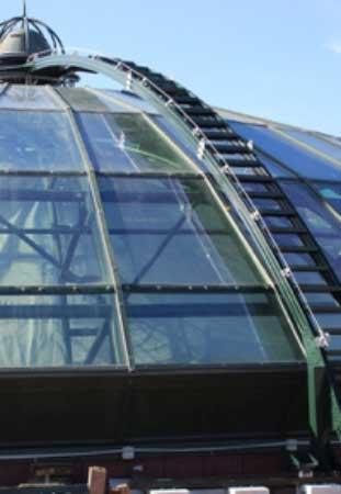 HONORope-Single-Line-valbeveiliging-glazen-dak